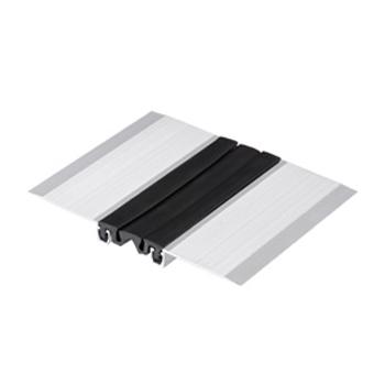 درز انبساط آلومینیومی لاستیکی ۳ تکه ۳ سانتیمتری