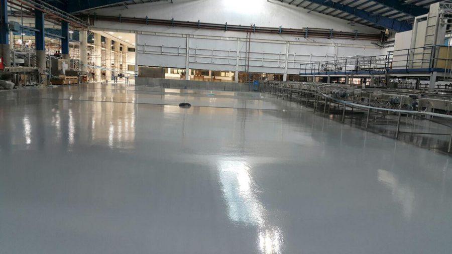 polyurethane floor covering