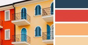 نمونه ای از رنگ نما